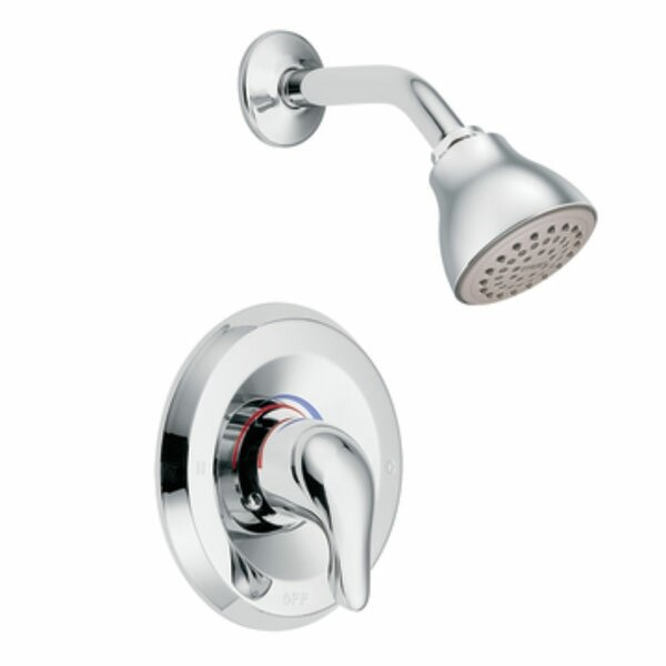 Chateau Thermostatic Shower Faucet Valve with Lever Handle and Posi-Temp by Moen