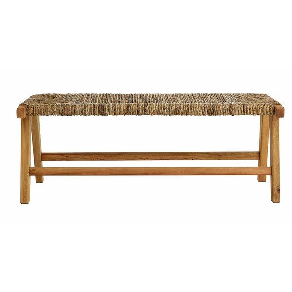 Copenhagen Wood Bench by Design Ideas