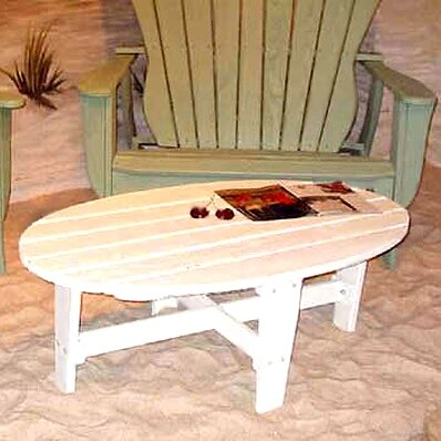 Wave Wood Coffee Table by Uwharrie Chair