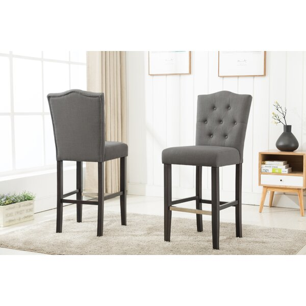 Fonteyne 29 Bar Stool (Set of 2) by Darby Home Co