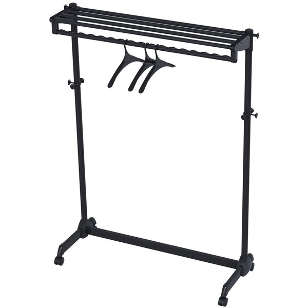 47.64 H x 10.63 W x 5.12 D Portable Garment Rack by Alba