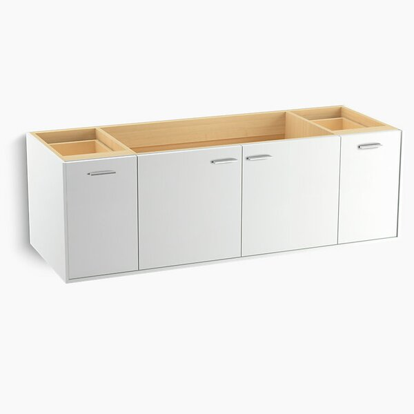 Jute™ 60 Vanity with 2 Doors and 2 Drawers, Split Top Drawer by Kohler