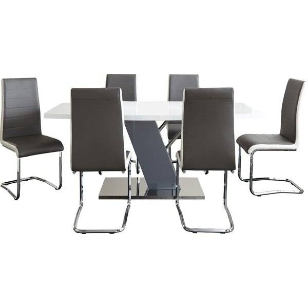 Nevada 7 Piece Dining Set