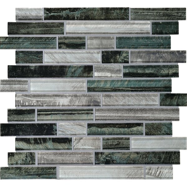 Rhodes Random Sized Glass Mosaic Tile in Indo by Itona Tile