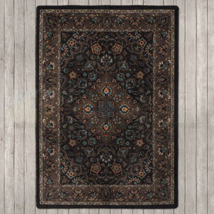 Robert Caine Montreal Electric Desert Brown/Blue Area Rug by American Dakota