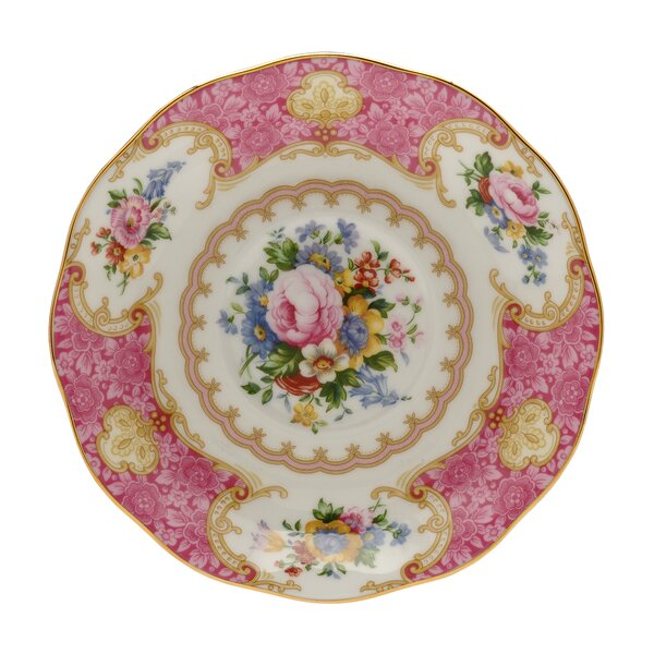 Lady Carlyle Bread and Butter Plate by Royal Albert