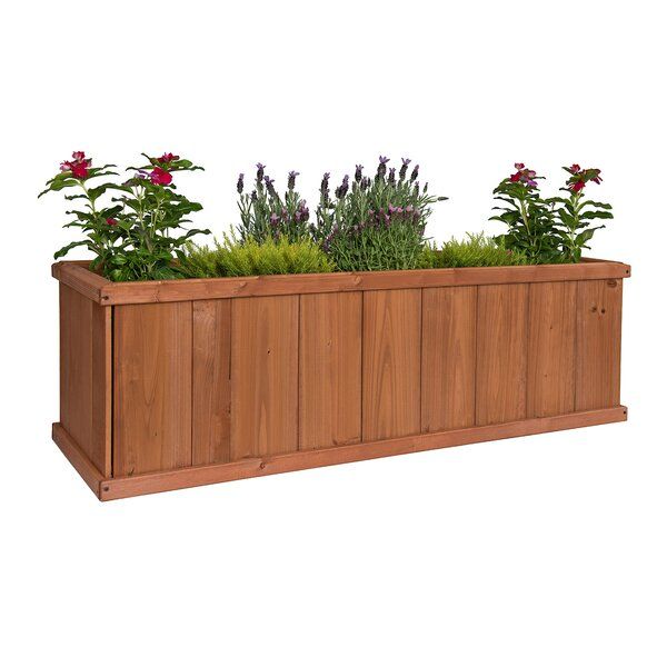Gran Robusto Cedar Planter Box by Greenstone Garden Structures