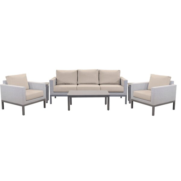 Aerin Sofa Seating Group with Sunbrella Cushions by Brayden Studio