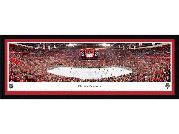 NHL Florida Panthers by James Blakeway Framed Photographic Print by Blakeway Worldwide Panoramas, Inc