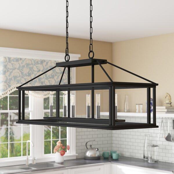 Thies 6-Light Rectangle Chandelier by Gracie Oaks Gracie Oaks