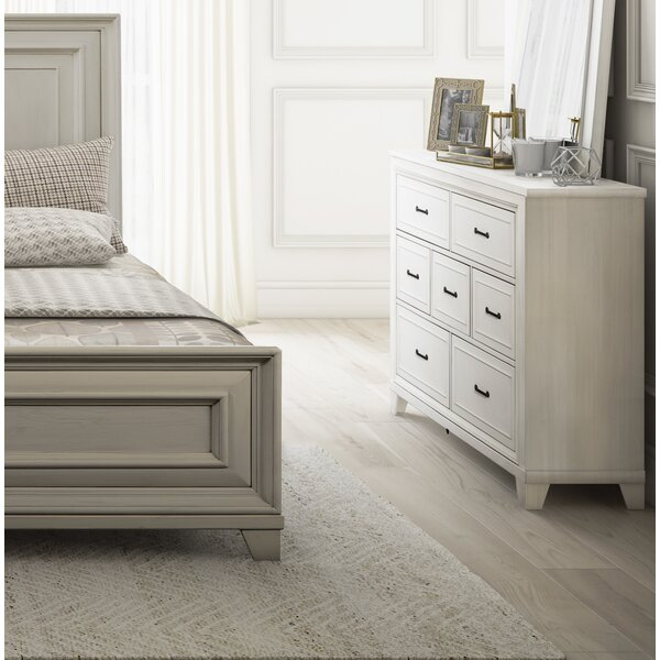 Robitaille Weathered 7 Drawer Dresser by Canora Grey