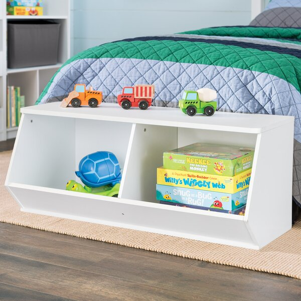 KidSpace Stackable Angled Toy Organizer by ClosetMaid