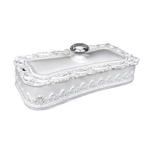 Modern Rectangular Keepsake Jewelry Box by One Allium Way