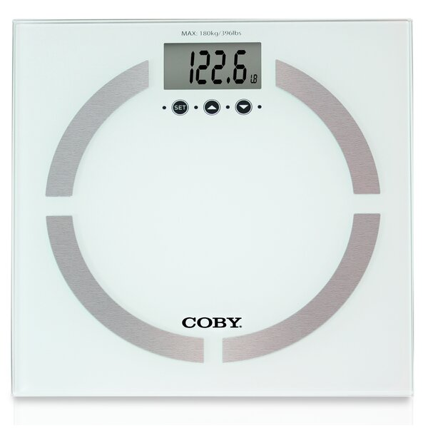 Body Analysis Bathroom Digital Scale by COBY