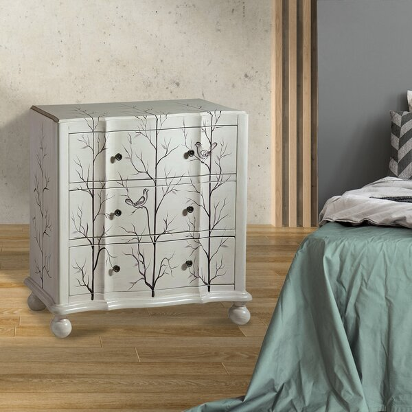 Andrea 3-drawer Standard  Chest