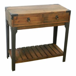 Loghill Village Modish Wooden Console Table