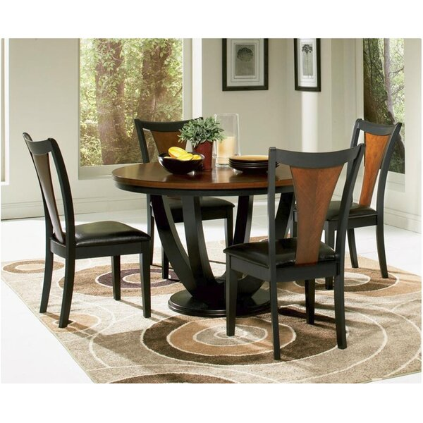 Rhem 5 Piece Dining Set by World Menagerie