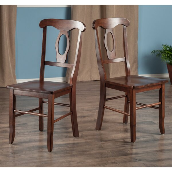 Edge Solid Wood Dining Chair (Set of 2) by Red Barrel Studio
