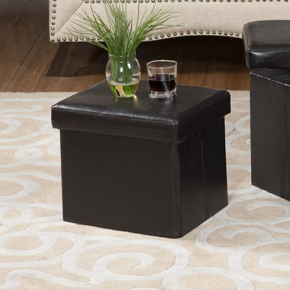 Storage Ottoman by InRoom Designs
