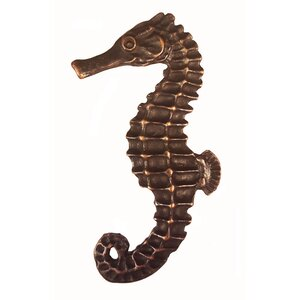 Tropical Seahorse Left Facing Novelty Knob