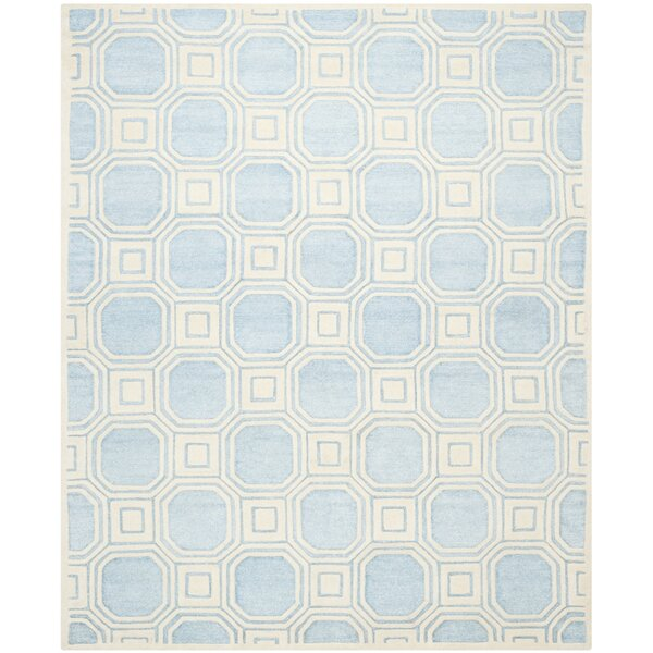 Precious Mist Blue/Beige Area Rug by Safavieh