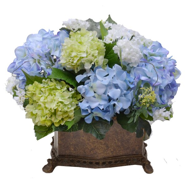Mixed Centerpiece in Planter by Floral Home Decor