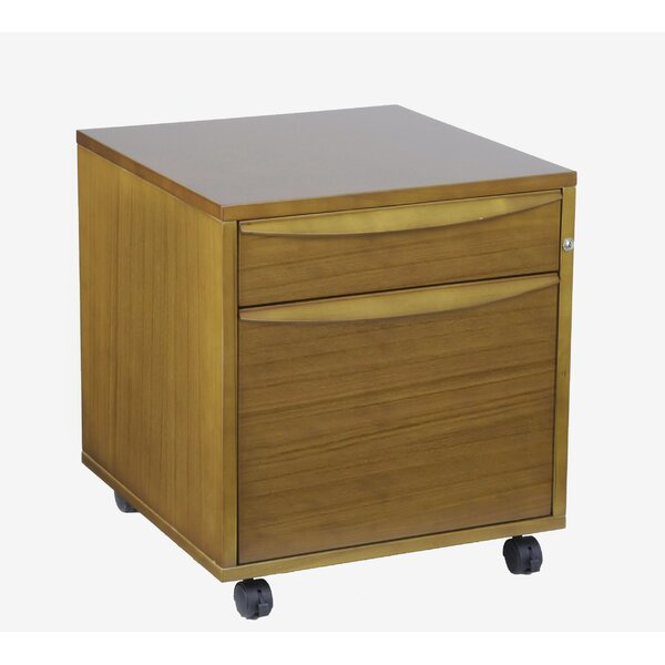 Sit-Stand Series 2-Drawer Filing Cabinet by Haaken Furniture
