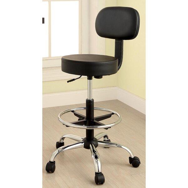 Karissa Drafting Chair by Latitude Run
