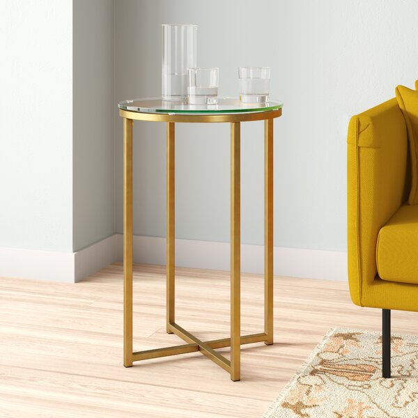 Angeles End Table By Everly Quinn