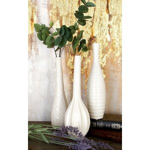 Stoneware Table Vase Set (Set of 3)
