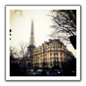 Paris' by John Black Photographic Print on Rolled Canvas by ArtWall
