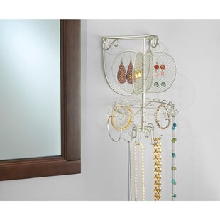 Espana Spinning Wall Mount Jewelry Holder By Rebrilliant