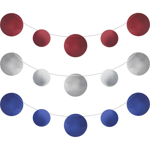 Patriotic Foil Banner Kit by The Holiday Aisle