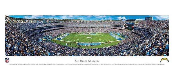 NFL 50 Yard Line Unframed Panorama by Blakeway Worldwide Panoramas, Inc
