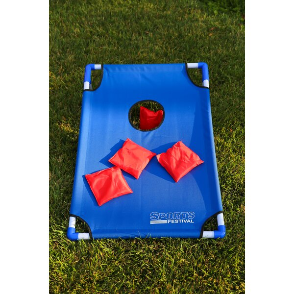 Toss Game Cornhole Board Set by Festival Depot