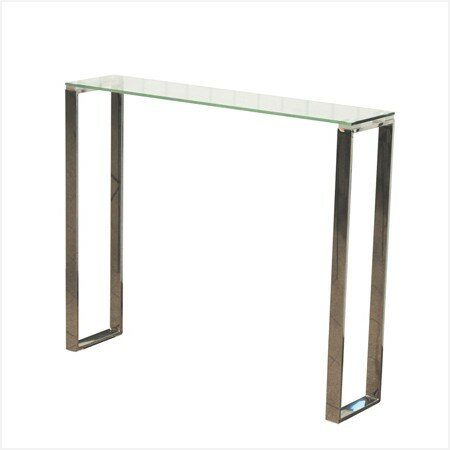 Kinsella Narrow Console Table by Everly Quinn