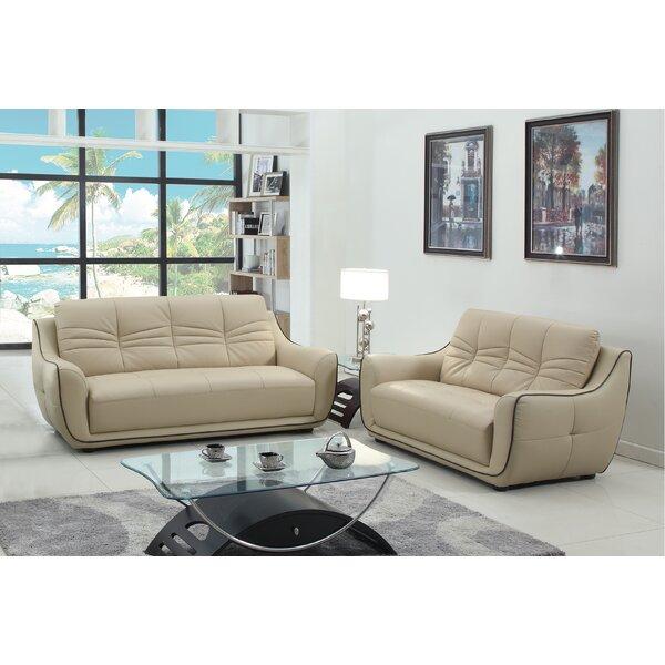 Aubree 2 Piece Living Room Set (Set of 2) by Orren Ellis