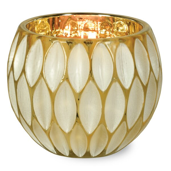 Glam Glass Tealight by House of Hampton