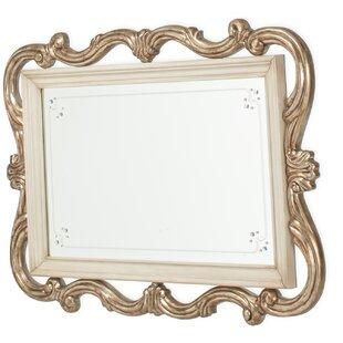Michael Amini Platine De Royale Wall Mirror