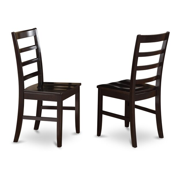 Pilning Solid Wood Dining Chair (Set Of 2) By August Grove