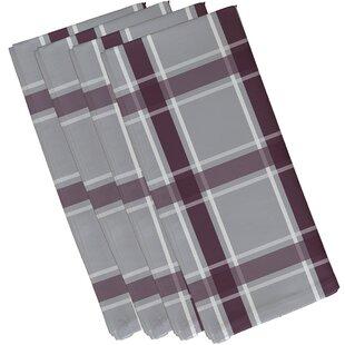 Abigail Applesauce Geometric Napkin (Set of 4) by Charlton Home
