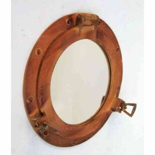 Breakwater Bay Jaynes Spaces Nautical Porthole Accent Mirror