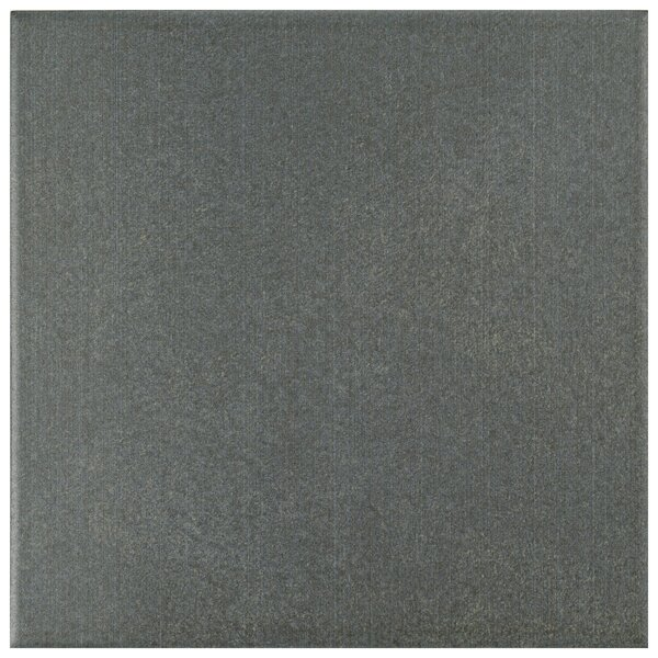 Forties 7.75 x 7.75 Ceramic Field Tile in Black/Charcoal by EliteTile