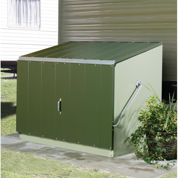 Stowaway 4.5 ft. W x 3.7 ft. D Metal Lean-To Storage Shed by Trimetals