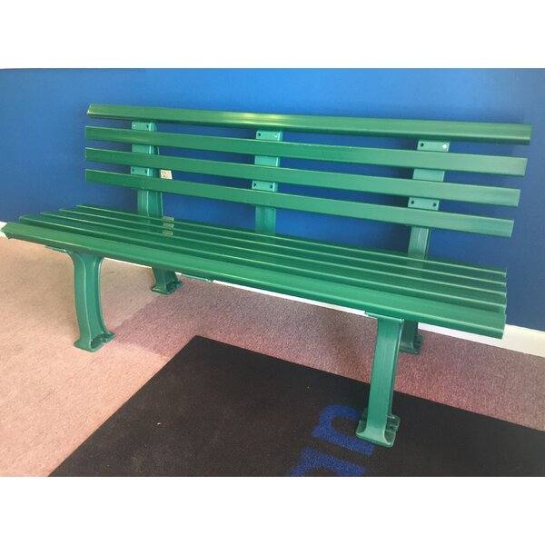 Sybilla Courtside Plastic Park Bench by Freeport Park Freeport Park