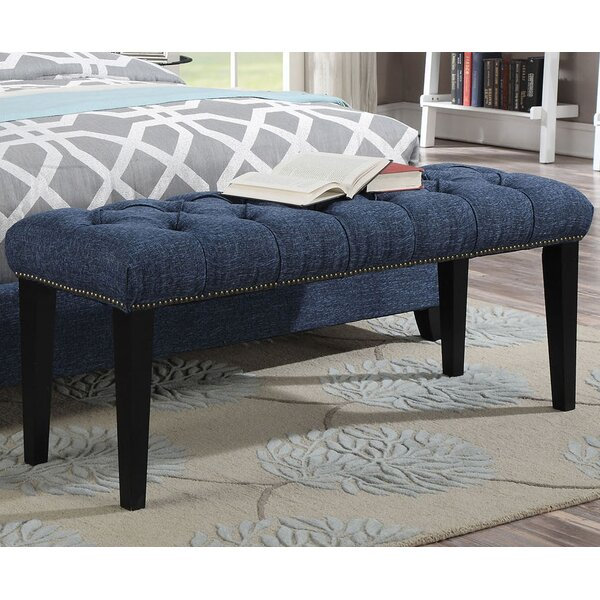 Taylor Upholstered Bench by A&J Homes Studio