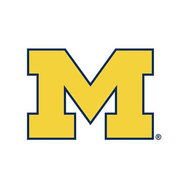 University of Michigan Collegiate Coaster (Set of 4) by Thirstystone
