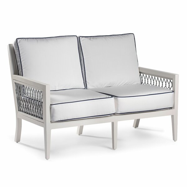 Echo Bay Loveseat with Sunbrella Cushions by Eddie Bauer