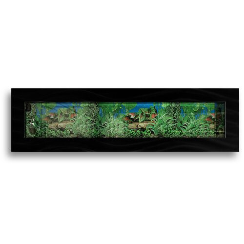 Aussie 11.5 Gallon Wall Mounted Aquarium Tank by Vandue Corporation