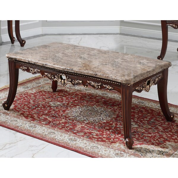 Rozlynn Coffee Table With Tray Top By Astoria Grand